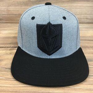 adidas NHL Vegas Golden Knights Cap Hat Adj New